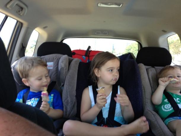 car kids