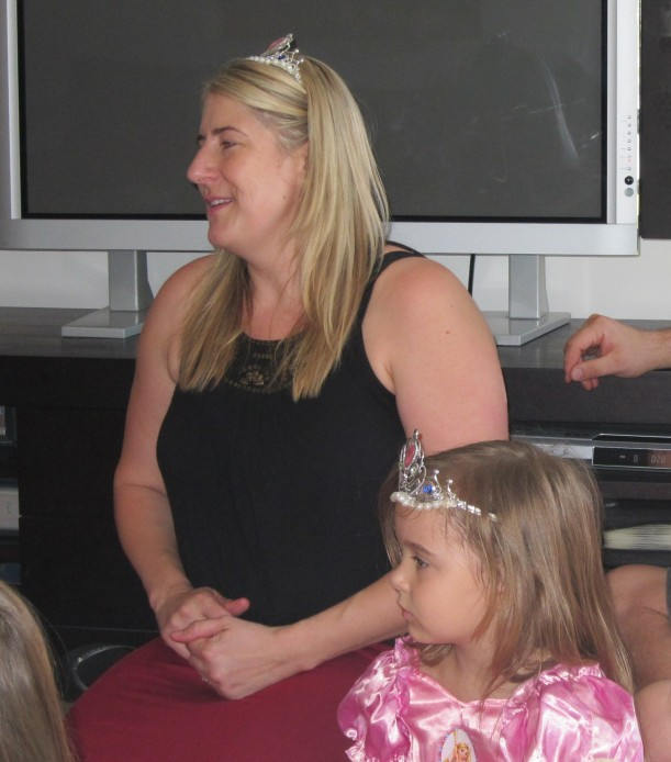 This was taken in March 2012 when No.1 had an awesome Princess Party.
