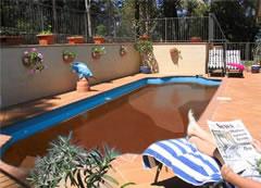 chocolate pool