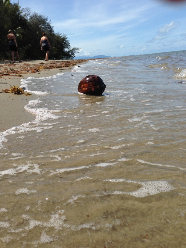 The beach we weren't allowed to swim in :(