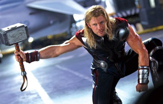 No I'm not married to Thor - but what a hero and those arms - cha chinngggg