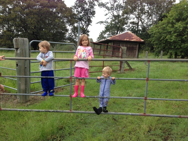 But that didn't last long because the world famous 'gate swing'  ride was operating (thanks nanny) x