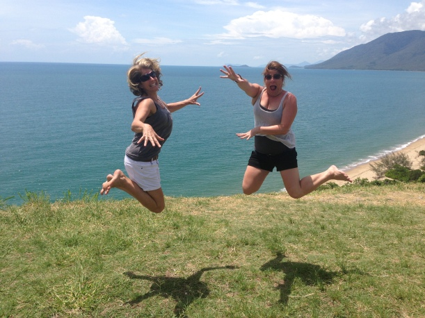 Does this background look familiar? YEP - it's where the McAwesome header photo came from, on the way to Port Douglas, Qld