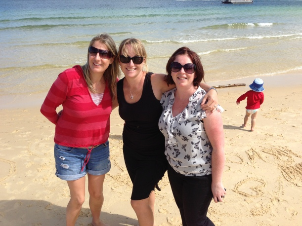 Me and two women that love me for who I am - and that's some sort of crazy at times!!