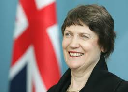 Helen Clark - NZ's first EVER  women Prime Minister, who I had the privilege to meet and interview on numerous occasions as a journo back in NZ some 8 years ago.