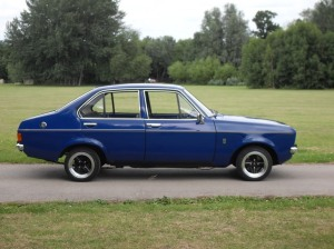 This was my first car (except it was granny, pale blue - how cool is it?) My parents gave it to me - I know right, they are amazing!