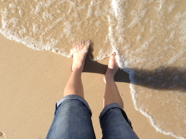 Getting feet wet and loving it!
